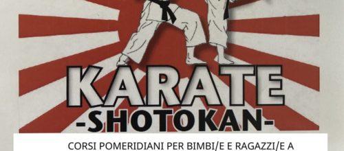 Novità anno sportivo : Karate per i più piccoli